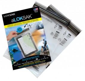 Loksak aLOKSAK 6x9, 2 Stück (15.9 x 22.9 cm) kleine Tablets
