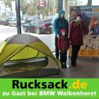 Rucksack.de bei 2er BMW Premiere