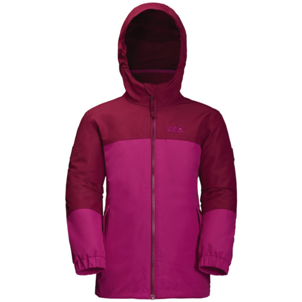 Jack Wolfskin Iceland 3in1 Jacket Girls fuchsia 116