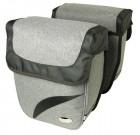 Haberland Doppeltasche Trend M DS3418 Gepäcktr.-System-Adapter passend f. Carrymore u. iRack