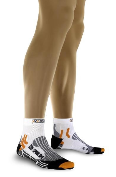 X-Socks Run Speed One white/black 2 X20037-50-2