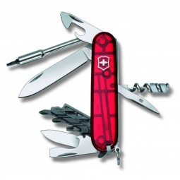 Victorinox Cyber Tool 29 rot, transparent