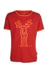 Elkline Rudolfinchen Mädchen T-Shirt Bio-Baumwolle