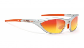 Rudy Project Apache SX Silver Velvet Multilaser Orange