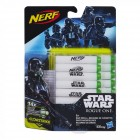 Nerf StarWars Rogue 1 Glow-in-the-Dark 14er Darts Nachfüllpack