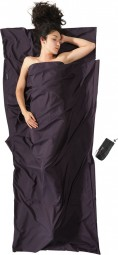Cocoon Travel Sheet Thermolite Silkweight 220x90 cm volcano grey