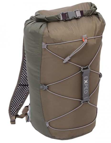 grey-clay brown - Exped Cloudburst 25