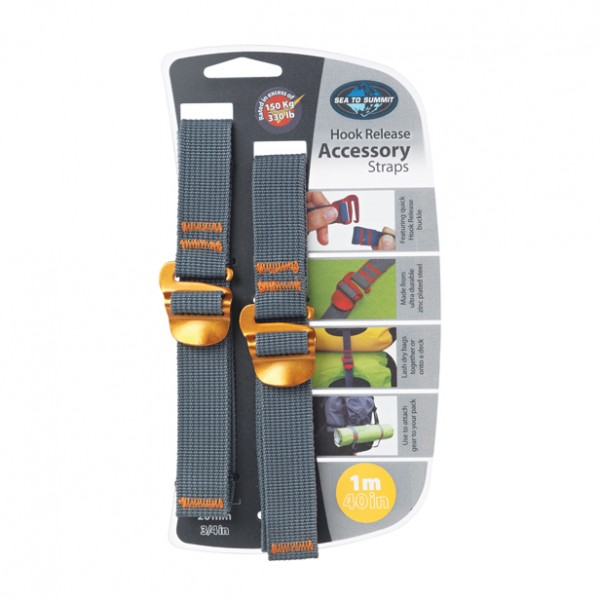- Sea to Summit Accessory Strap 20 mm - Hook Release 1 m