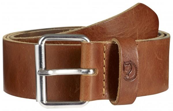 leather cognac - Fjällräven Singi Belt 4 cm