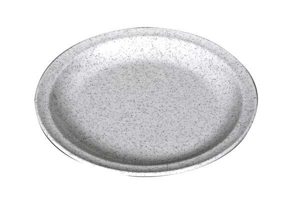 granit - Waca Melamin Teller flach, Durchmesser 23,5 cm