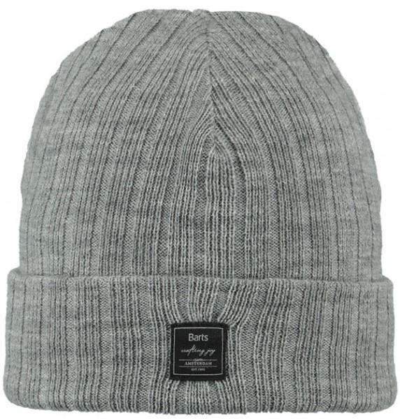 heather grey - Barts Parker Beanie