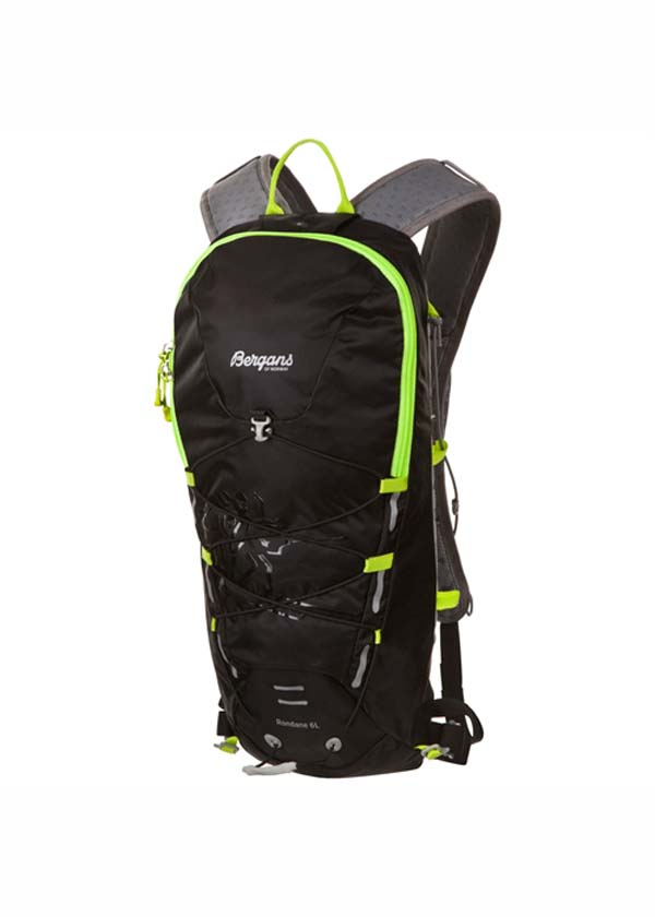 Bergans Rondane 6 L black/neongreen
