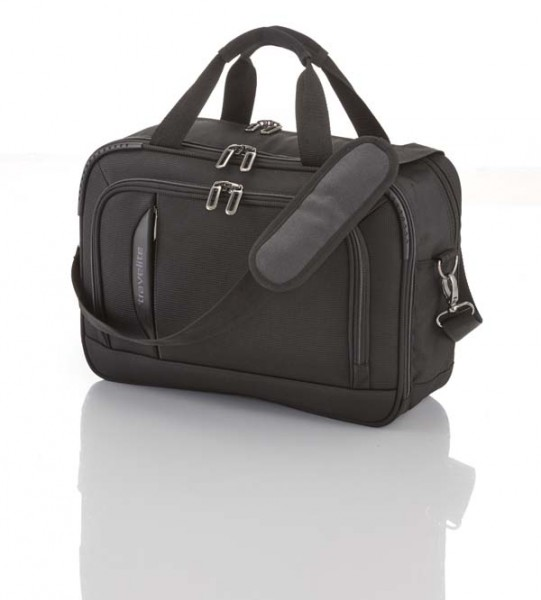 schwarz - Travelite Crosslite Bordtasche