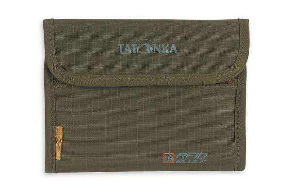 olive - Tatonka Euro Wallet RFID B