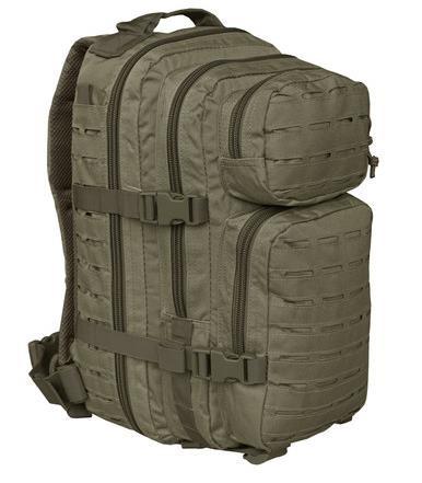 oliv - Mil-Tec US Assault Pack SM Laser Cut