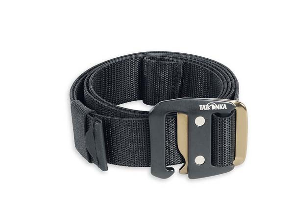 black - Tatonka Stretch Belt 32 mm