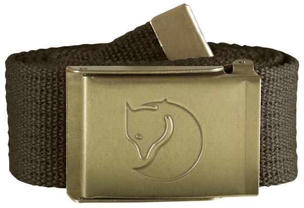 dark olive - Fjällräven Canvas Brass Belt 4 cm