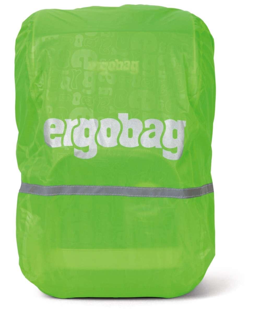 ergobag Regencape reflektierend und fluoreszierend Grün fluoreszierend