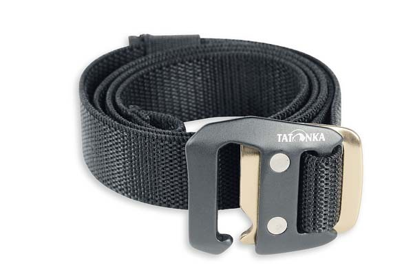 black - Tatonka Stretch Belt 25 mm