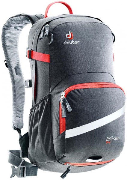 graphite-papaya - Deuter Bike I 14