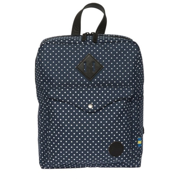 navy/white polka dot - Enter Sports Backpack Mini