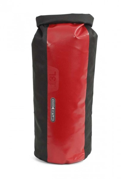 schwarz-rot - Ortlieb Packsack PS490, 13 L, ohne Ventil