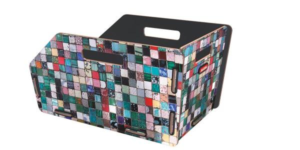 mosaik - KLICKfix Radkiste 1 für Gepäckträger, Racktime