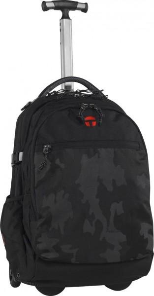 camouflage black/black - Take It Easy Rucksack Trolley Barcelona