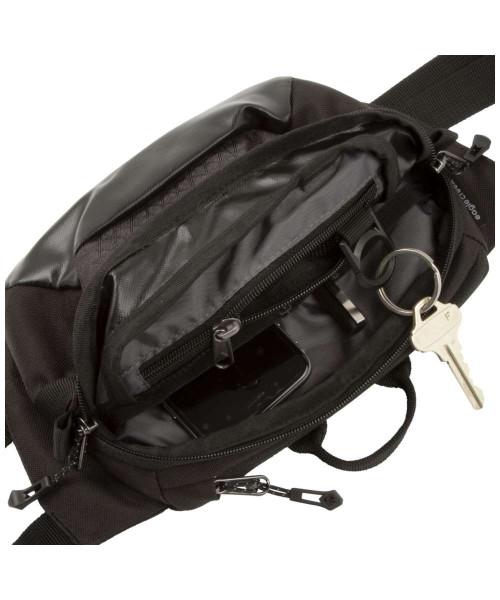 Innenansicht black/charcoal - Eagle Creek Wayfinder Waist Pack S