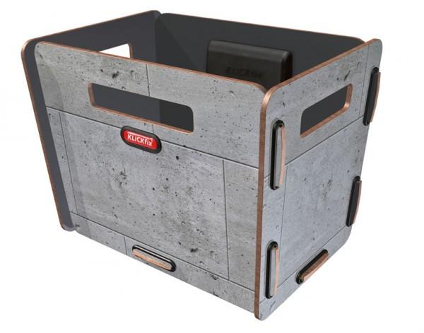 beton - KLICKfix Radkiste 1 für Lenker