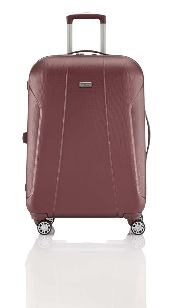 Travelite Elbe Two 4-Rad Trolley M granat