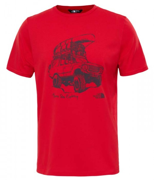 high risk red - The North Face M Tansa Tee
