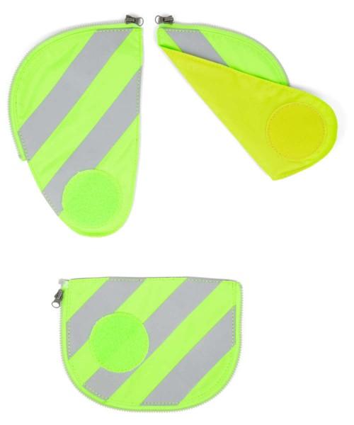 grün - ergobag Pack Sicherheitsset mit Reflektorstreifen (3-tlg.)