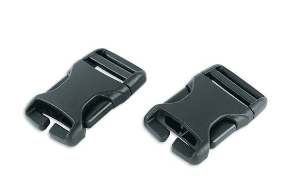 - Tatonka SR-Buckle QA 25mm Paar black