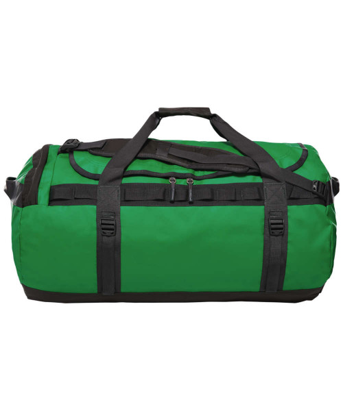 primary green/asphalt grey - The North Face Base Camp Duffel L