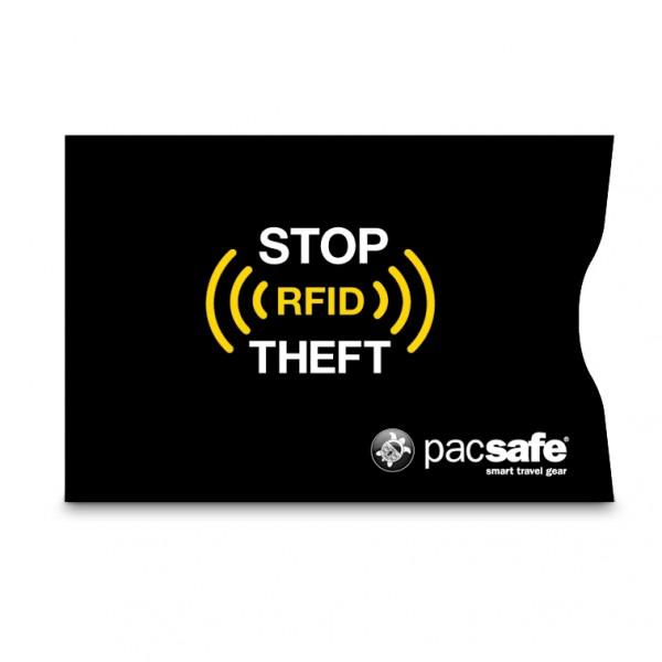black - Pacsafe RFIDsleeve 25