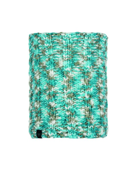 aqua - Buff Knitted und Polar Fleece Neckwarmer Livy