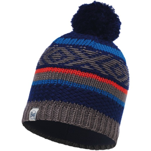 blue ink - Buff Child Knitted und Polar Hat Tipsy