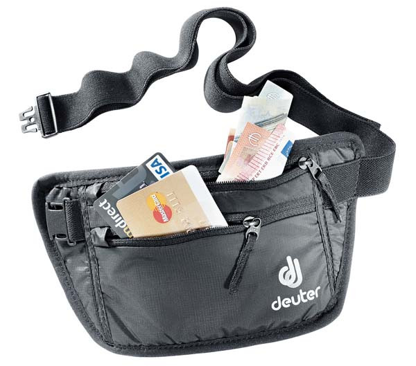 black - Deuter Security Money Belt I