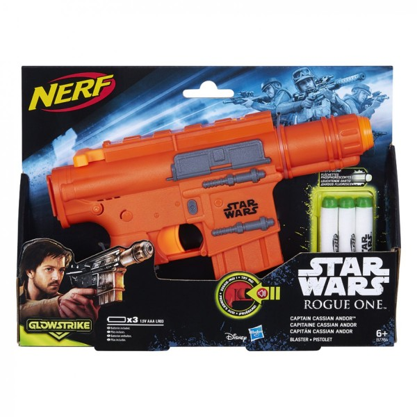- Nerf StarWars Rogue 1 Seal Communicator Blaster