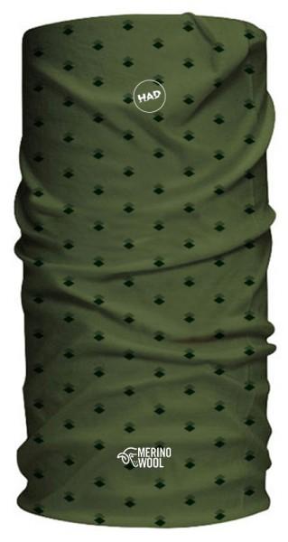 army green rhombus - HAD Merino