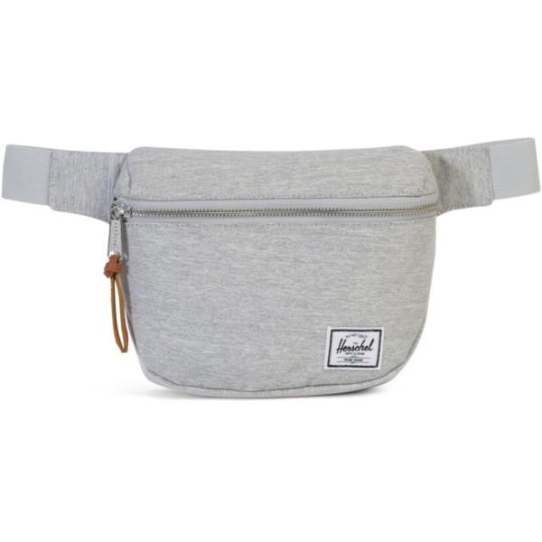 light grey crosshatch - Herschel Fifteen Hüfttasche