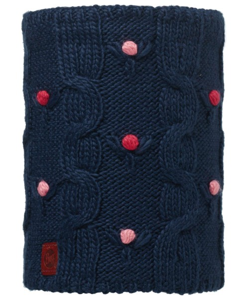 dark navy - Buff Knitted und Polar Fleece Neckwarmer Dysha Junior