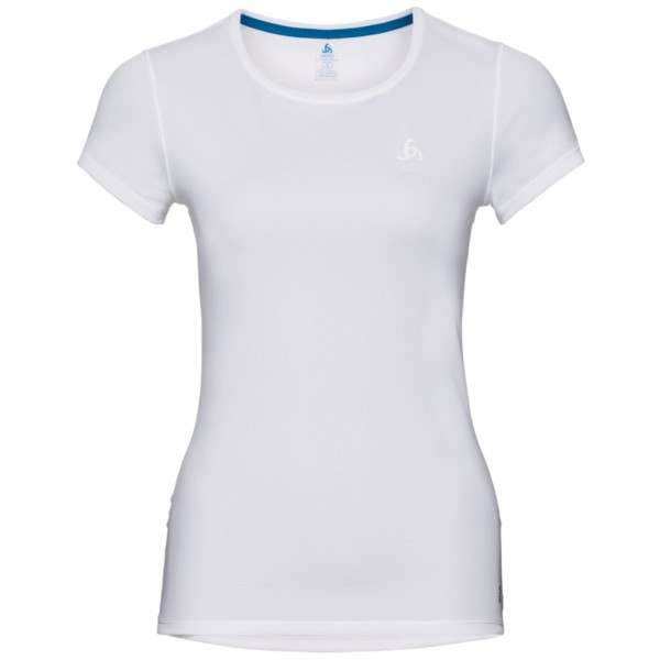 white - Odlo Women Active F-Dry Light SUW Top Crew Neck S/S