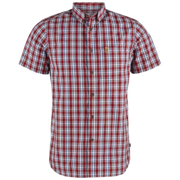deep red - Fjällräven Övik Shirt SS