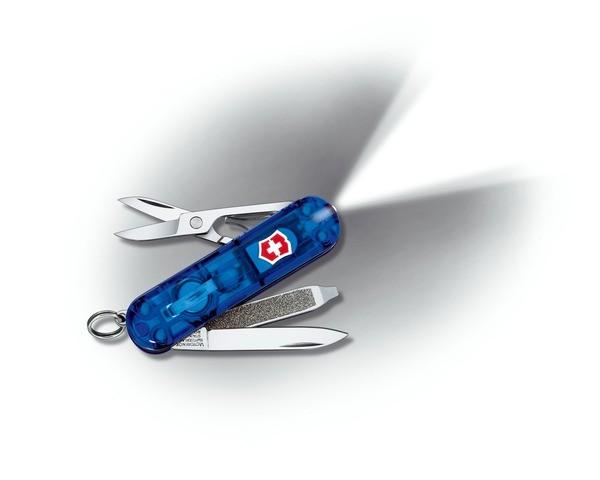 saphir transparent - Victorinox SwissLite Kompakttaschenmesser