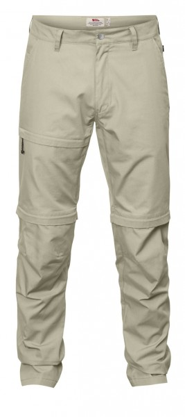 limestone - Fjällräven Traveller Zip-Off Trousers