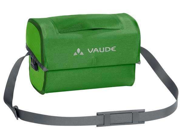 parrot green - Vaude Aqua Box mit KlickFix-Adapter