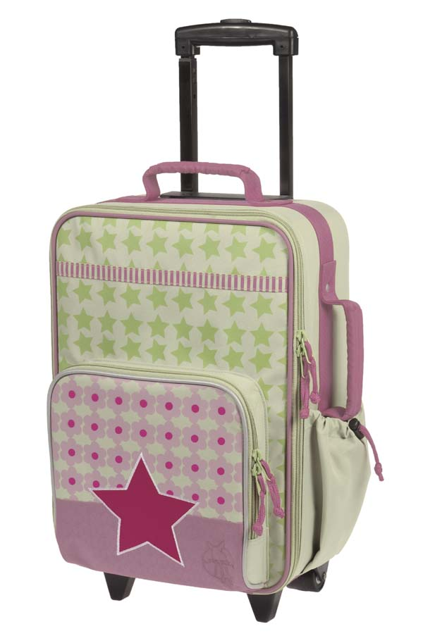 Lässig 4Kids Trolley starlight magenta