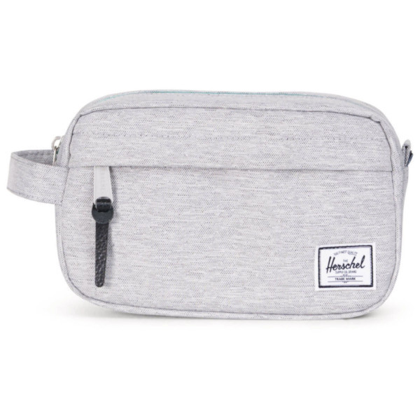 light grey crosshatch - Herschel Chapter Carry On Travel Kulturtasche